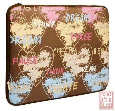 G-Cube A4-GNH-15L, 15.6, futrola za notebook, So Happy Together - Love - Lycra Notebook Sleeve