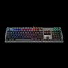 A4 Tech B810R, Bloody Gaming, Light Strike RGB Animation Gaming Keyboard, US, USB