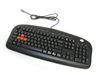 A4 Tech KB-28G, multimedia, Black, US, USB