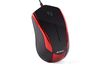 A4 Tech N-400, V-Track mouse, optical, USB, black + red