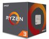 AMD Ryzen 3 1200, 4 Core (3.1GHz/3.4GHz turbo), 4 Threads, 2MB L2 cashe, 8MB L3 cache, 65W, Wraith Stealth Cooler (AM4)