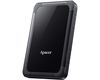 "2.5"" 1TB Apacer AC532, External HDD, Shockproof, USB3.1 (Gen1), black (AP1TBAC532B-1)"