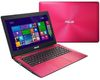 "ASUS X453SA-WX109T, 14"" LED (1366x768), Intel Pentium N3700 1.6GHz, 4GB, 500GB HDD, Intel HD Graphics, USB3.0, DVDRW, Win 10, pink"