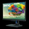 "24.5"" BENQ PD2500Q, IPS LED, 16:9, 2560x1440, 1000:1, 350cd/m2, 4ms, Speakers, Pivot,  HDMI/DP/mDP/USB 3.1"