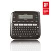Brother PT-D210VP, Desktop, QWERTY keyboard, TZ tapes 3.5 to 12 mm, Battery optional, Graphic Display, Template library, Flat keyboards, Adapter AC, Carry Case