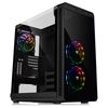 Thermaltake View 37 RGB, Midi Tower, E-ATX, noPSU, Black, Gull-Wing Window (CA-1J7-00M1WN-01)