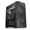 Thermaltake Commander G33 TG ARGB, Midi Tower, ATX, noPSU, 1x120mm + 1x200mm fans, Tempered glass (CA-1P3-00M1WN-00)