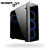 "CHIEFTEC GL-02B-OP Scorpion II, ATX, Gamer Series, 2x3.5"", 2x2.5"", USB 3.0, Front 3x120mm RGB fan/ Rear 120mm RGB fan, Tempered glass front and side panel"