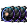 Thermaltake Riing 14 LED RGB (3-Fan Pack), (CL-F043-PL14SW-B), 140mm, 8000-1400rpm, 19-28.1dB max, 4-Pin
