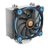 Thermaltake Riing Silent 12 Blue, 2066/2011-3/2011/1366/1156/1155/1151/1150/775, AM4/FM2/FM1/AM3+/AM3/AM2+/AM2, 120mm fan, 500-1400rpm, up to 19dBA, 4pin (CL-P022-AL12BU-A)