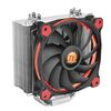 Thermaltake Riing Silent 12 Red, 2066/2011-3/2011/1366/1156/1155/1151/1150/775, AM4/FM2/FM1/AM3+/AM3/AM2+/AM2, 120mm fan, 500-1400rpm, up to 19dBA, 4pin (CL-P022-AL12RE-A)