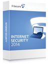 F-Secure Internet Security 2014, 1 year subscription