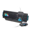 Gembird KBS-UMG-01, Gaming Keyboard and Mouse, USB