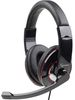 Gembird MHS-001, Stereo headphones with microphone , 1.8m, 3.5mm, black