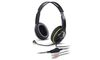 Genius HS-400A, Rotational Headset, Volume Control, green/blue