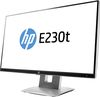 "23"" HP EliteDisplay E230t (W2Z50AA), IPS Touch, 16:9, 1920x1080, 250cd/m2, 1000:1, 5ms, Pivot, VGA/HDMI/DP/USB"