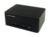 "LC Power LC-DOCK-U3-CR, External dock for 2x2.5/3.5"" SATA HDD/SSD with Card reader and USB3.0 hub, USB3.0"