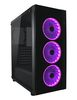 "LC POWER Gaming 995B Light Box, ATX, 2x3.5"", 2x2.5"", 3xRGB fans, Audio/USB3.0, tempered glass side panel"