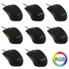 LC Power m810RGB, AiRazor Optical RGB mouse, 800-3200dpi, Up to 16.8 million adjustable RGB colours, Five programmable buttons, USB