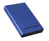 "LC Power LC-25U3-XL, External USB 3.0 HDD enclosure for 2.5"" SATA HDDs, blue"