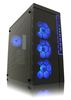 "LC POWER Gaming 991B Lighthouse, ATX, 5x3.5"", 3x2.5"", 4xFan, Audio/USB3.0, tempered glass side panel"