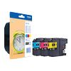 LC125XLRBWBP - Brother 3-Ink Color Cartridge