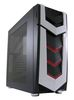 "LC POWER Gaming 987B Silent Slinger, ATX, 1x5.25"", 2x3.5"", 3x2.5"", 2xFan, Audio/USB3.0, side panel acrylic window"
