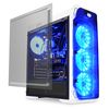 "LC POWER Gaming 988W Blue Typhoon, ATX, 2x3.5"", 2x2.5"", 4xFan, Audio/USB3.0, acrylic side panel, transparent front panel"