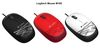 Logitech M105, Corded Mouse, USB, black/blue/red/white