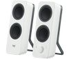 Logitech Z207, 2.0, 5 Watts RMS/10 Watts Peak power, Bluetooth, white