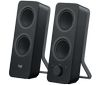 Logitech Z207, 2.0, 5 Watts RMS/10 Watts Peak power, Bluetooth, black