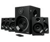 Logitech Z607 Surround Sound Speakers, Satellites 80 watts RMS (55W Satellites total, 25W Subwoofer)