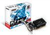 MSI R7 240 1GD3 64B LP, AMD Radeon R7 240, 1GB/64bit DDR3, VGA/DVI/HDMI, MSI cooling