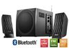 Microlab M300BT, Speaker System 2.1, 14W+2x12W RMS, USB/SD Card Reader/Bluetooth/FM, black