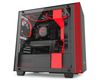 NZXT H440i mATX Case, no PSU, window side, black-red (CA-H400W-BR)