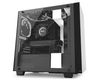 NZXT H440i mATX Case, no PSU, window side, black-white (CA-H400W-WB)