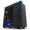 NZXT H440 Mid Tower ATX Case, no PSU, window side, black-blue (CA-H442W-M4)