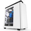 NZXT H440 Mid Tower ATX Case, no PSU, window side, white (CA-H442W-W1)
