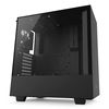 NZXT H500 Mid Tower ATX Case, no PSU, window side, black (CA-H500B-B1)