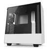 NZXT H500i Mid Tower ATX Case, no PSU, window side, white-black (CA-H500W-W1)
