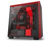 NZXT H700i Mid Tower ATX Case, no PSU, window side, black-red (CA-H700W-BR)