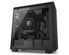 NZXT H700i Mid Tower ATX Case, no PSU, window side, black (CA-H700W-BB)