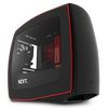 NZXT Manta, Mini ITX Case, no PSU, window side, black-red (CA-MANTW-M2)