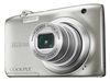 "Nikon Coolpix A100, 20.1MPixel, 5x opt. zoom, 2.7"" LCD, 720p video, Li-ion Battery, silver"