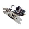 PCI-EXPRESS TO 2 SERIAL (RS232) PORTS + PARALLEL (LPT) PORT
