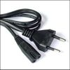 Power Supply Cable for Notebook Adapters, 2-pin