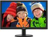 "23.6"" Philips 243V5LHAB/00, LED, 16:9, 1920x1080, 1ms, 1000:1, 250cd/m2, Speaker, VGA/DVI/HDMI"