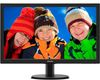 "23.6"" Philips 243V5LHSB/00, LED, 16:9, 1920x1080, 1ms, 1000:1, 250cd/m2, VGA/DVI/HDMI"