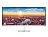 "34"" Samsung LC34J791WTUXEN, Curved, 21:9, 3440x1440, 4ms, 100Hz, 300cd/m2, 3000:1, Speaker, Mega, HDMI/DP/USB 3.0/ USB Type-C"