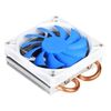 SilverStone AR05, Argon CPU Cooler, 2x Copper heat pipes with aluminum fins, HDC, extra silent, socket AM2/AM3/FM1/FM2/775/115X [24]
